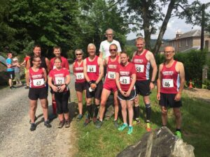 Mabie Forest pre race team photo