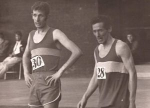 Two legends of Scottish running