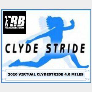Virtual Clydestride 4.0 Miles