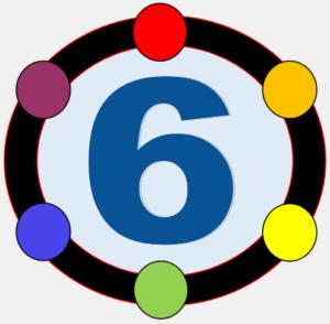 Six Parks Relay logo